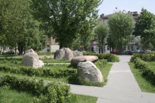 Каменный дворик Бобруйска