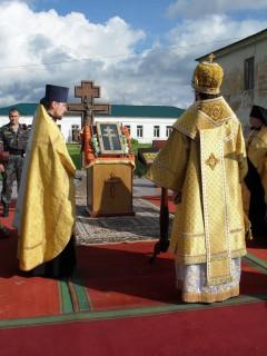 Крест Евфросинии Полоцкой в Бобруйске