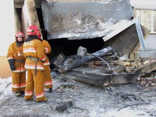 Взрыв в доме на улице Ульяновской в Бобруйске