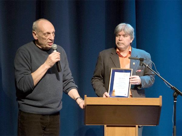 Саша Кругосветов на Конференции по вопросам фантастики «Роскон»