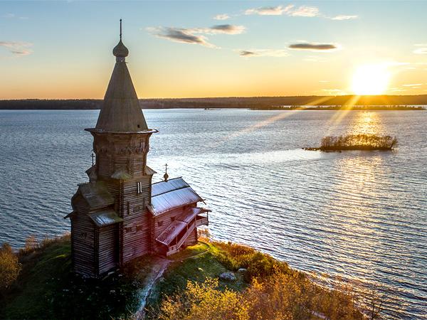 Церковь Успения Пресвятой Богородицы в Карелии