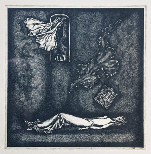 Борис Заборов, иллюстрация к рассказу Ф.М.Достоевского «Кроткая»