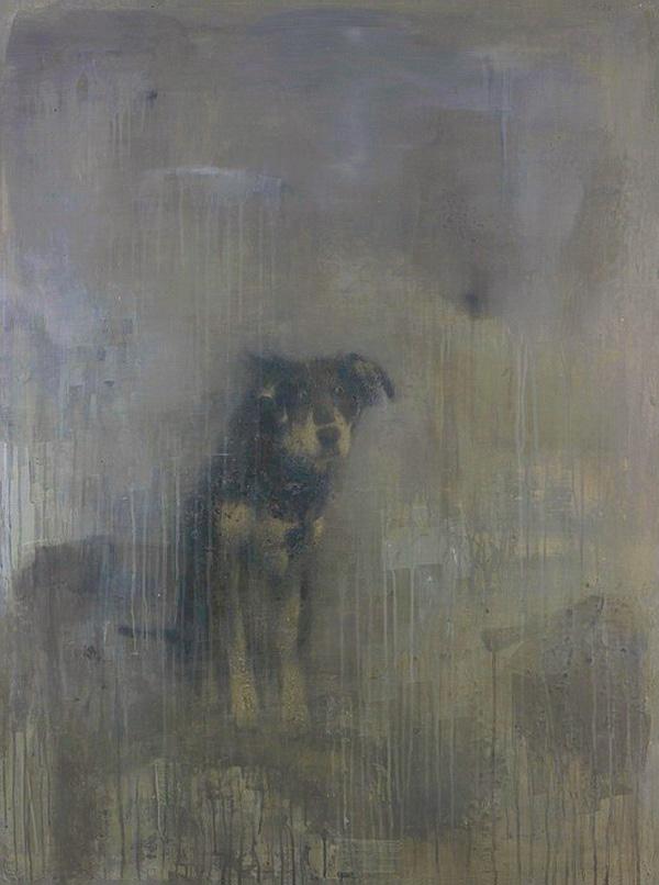 Борис Заборов, «Собака под дождем»