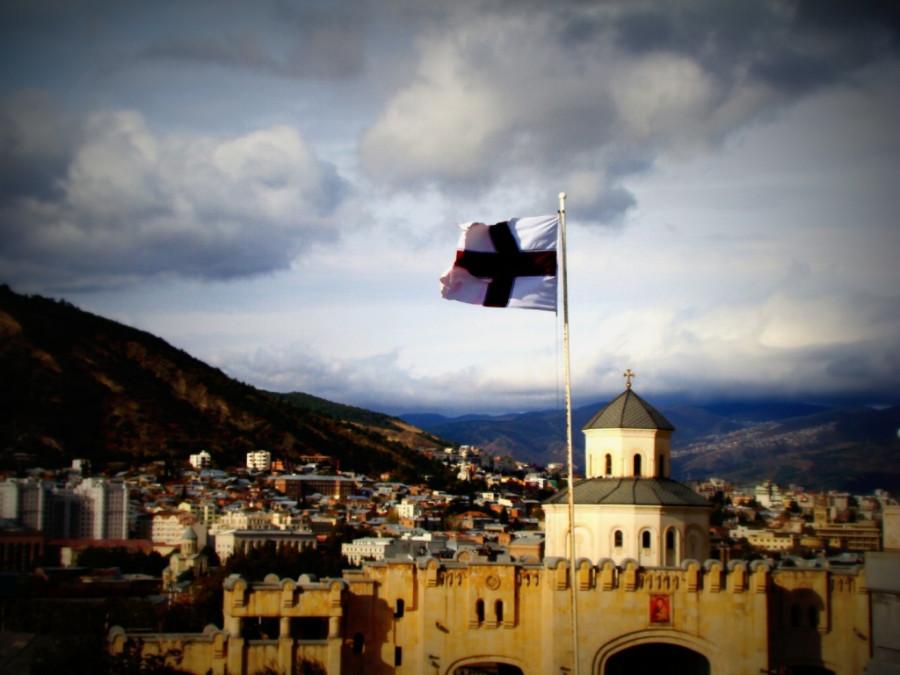 модули фото с флагом грузии поздравления