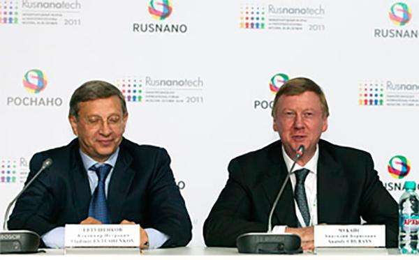Чубайс и Евтушенков