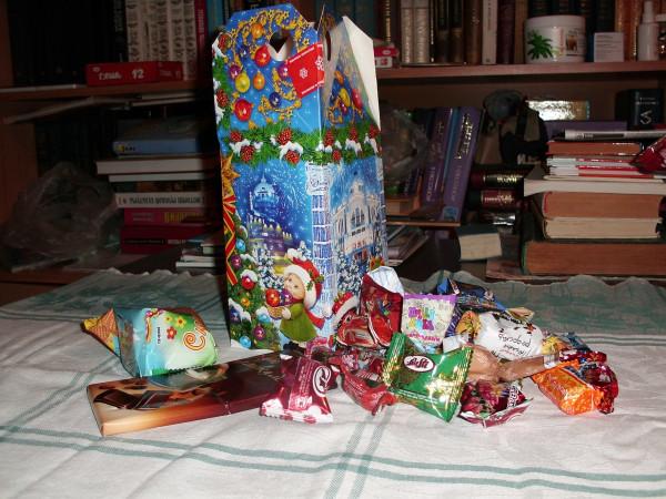 Подарки от меркушкина