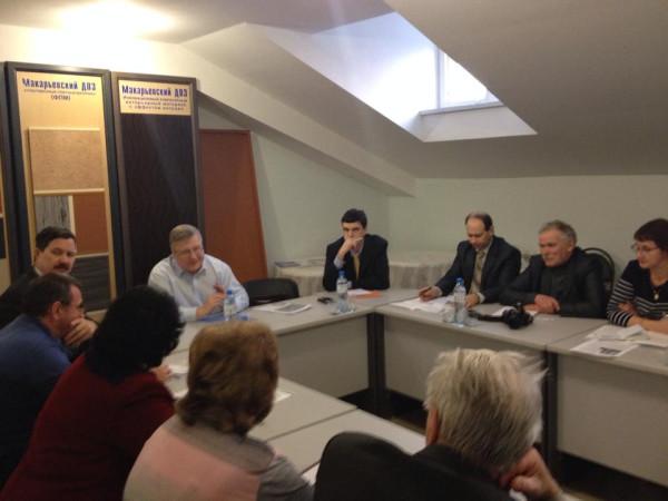 совещание по льну в Костроме
