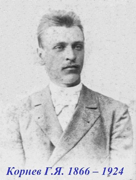 Герасим Яковлевич Корнев в 1894 году