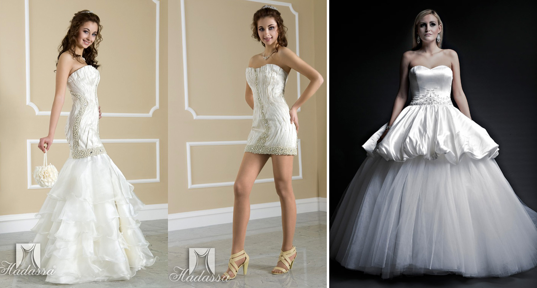 Свадебные платья трансформер короткие