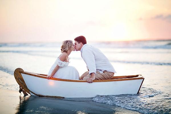 Морская тематика для свадьбы