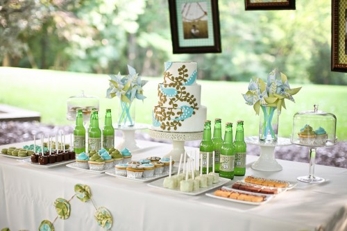 Dessert-Table-Green-and-Blue-500x333