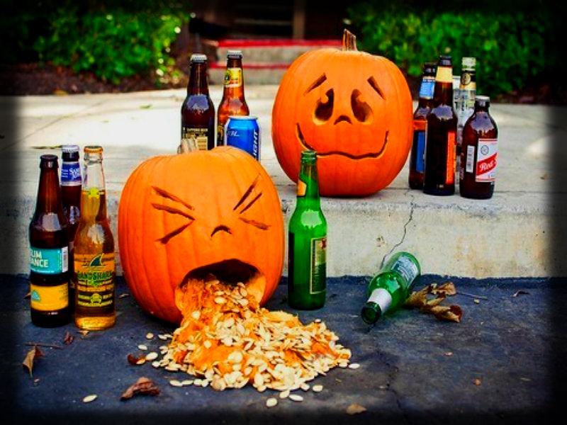 Прикольные картинка хэллоуин