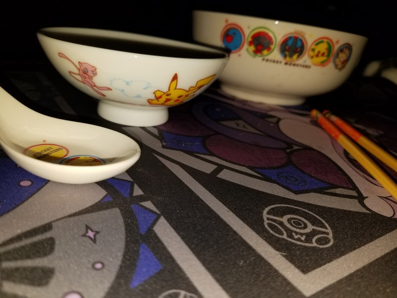 There's suddenly another bowl!  Too spooky.