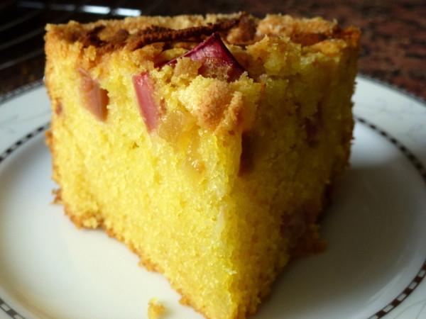 Ciasto Migdalowo Imbirowe Z Rabarbarem Krystyna9