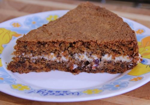 Морковный торт рецепт с творожным кремом рецепт с пошагово