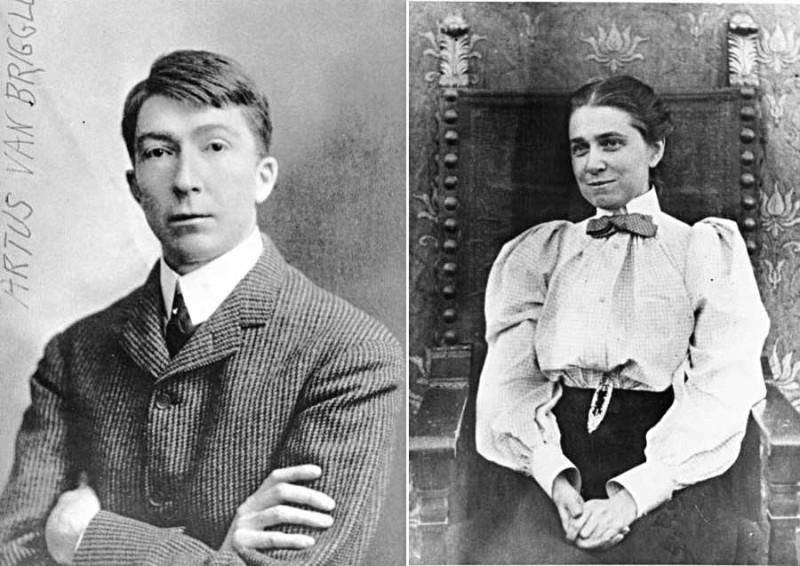 Van Briggle Artus Anne Ван Бригль Артус и Анна основатели керамической студии в Колорадо