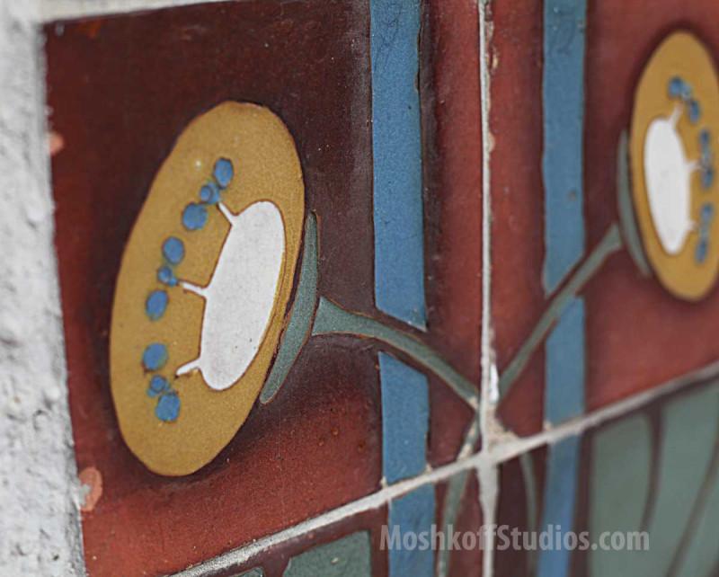 Архитектурная плитка ручной работы исторического производства Van Briggle