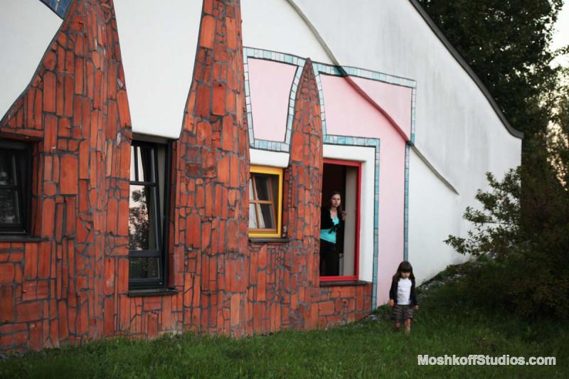выход из окна номера второго этажа Bad Blumau, фото Ксения Пирвиц MoshkoffStudios.com