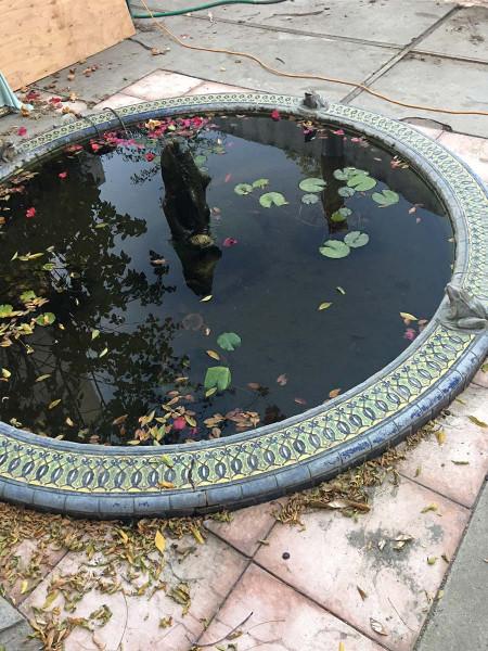 RufusKeeler_фонтан во внутреннем дворике