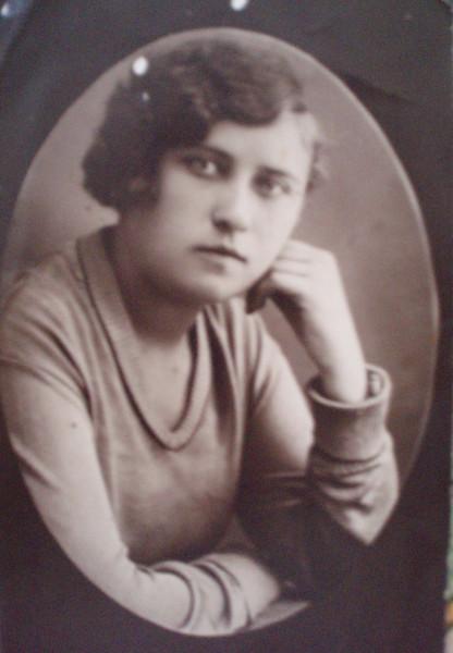 Вера Степановна Тычинская (моя мама)