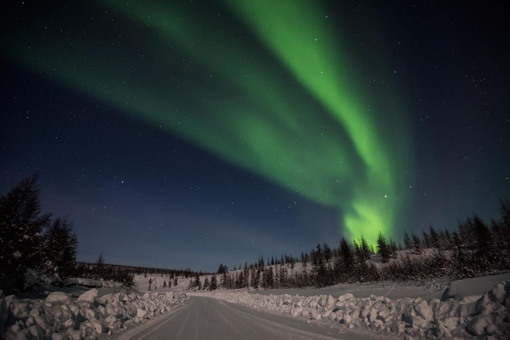 полярная ночь это как картинка многих рыболовов любое