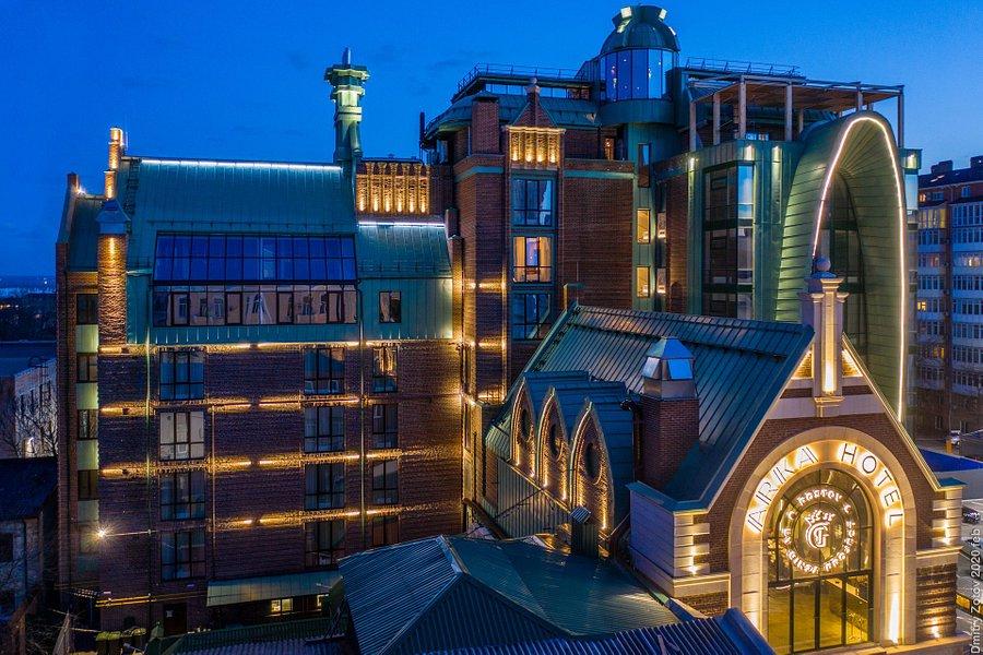 Отель «Арка». Причём тут отель — см. ниже. Фото с сайта отеля: arkahotel.ru