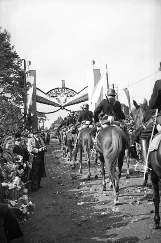 поляки оккупируют Чехию