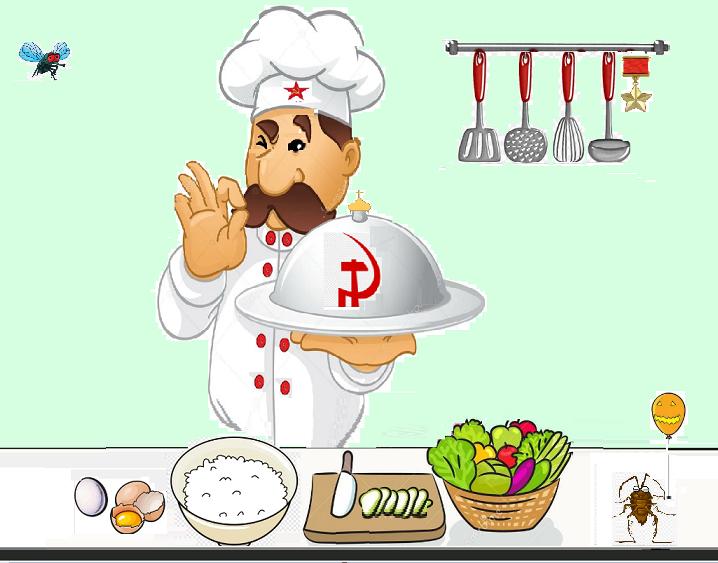 Сталин на кухне