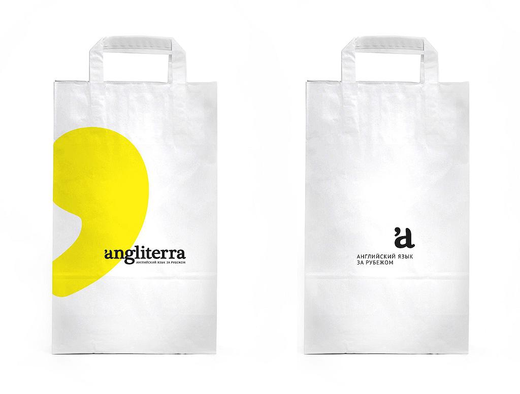 Angliterra. Брендированные пакеты