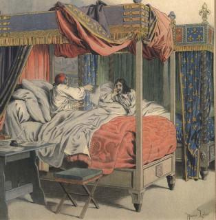 Сен-Мар и де Ту перед казнью
