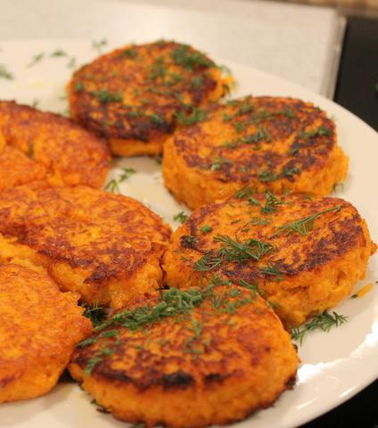 морковные котлеты в духовке рецепт с фото