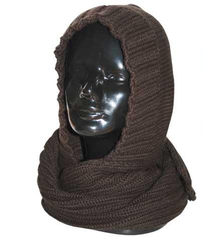 собираюсь вязать шарф-капюшон