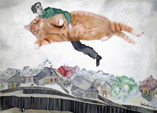 chagall_-over-the-town-cat-w