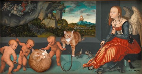 cranach-melacholia-cat-w