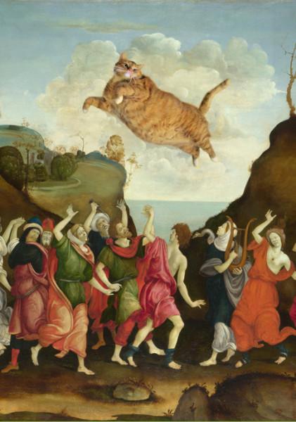 filippino-lippi-the-worship-of-the-golden-cat-det