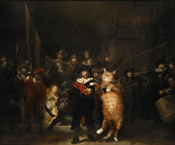 rembrandt_nightwatch-cat-w