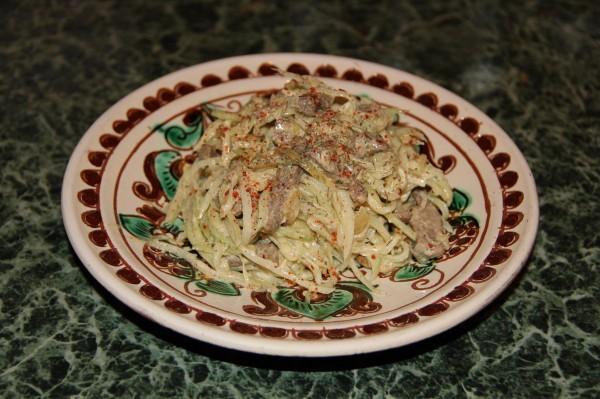 салат ташкентский