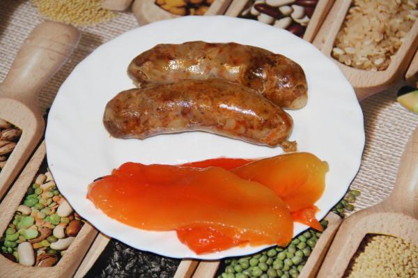 свиные колбаски с паприкой_2