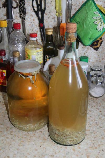 хреновка с медом и перцем