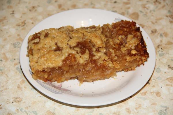 лимонный пирог с крамблом