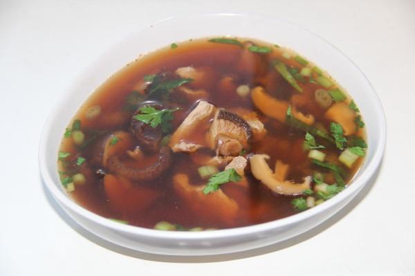 Мисо суп с уткой