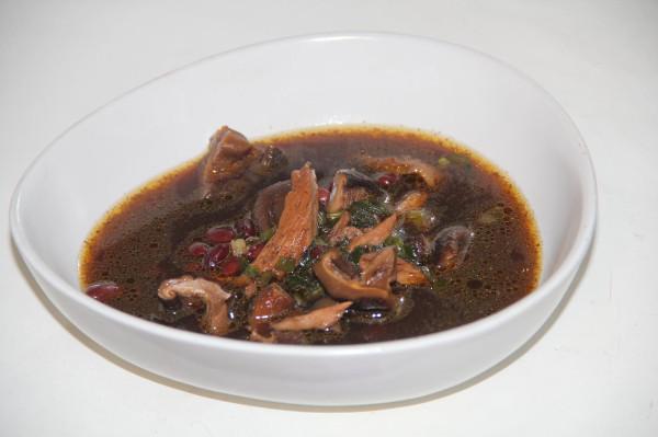 Суп куриный в китайском стиле