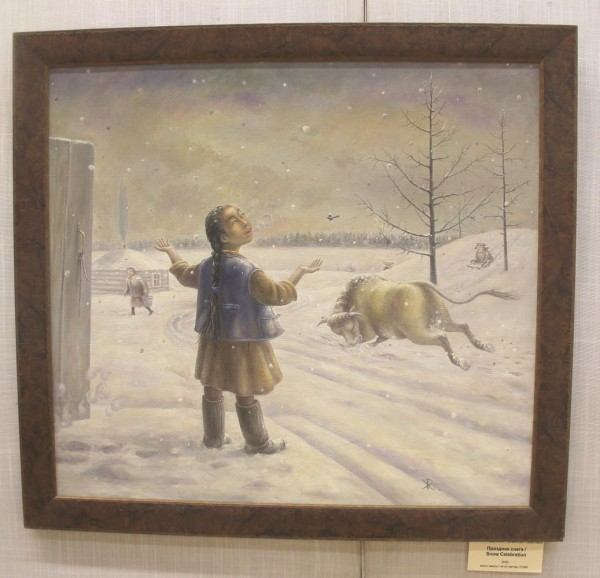 032_Жамсо Раднаев_Праздник снега