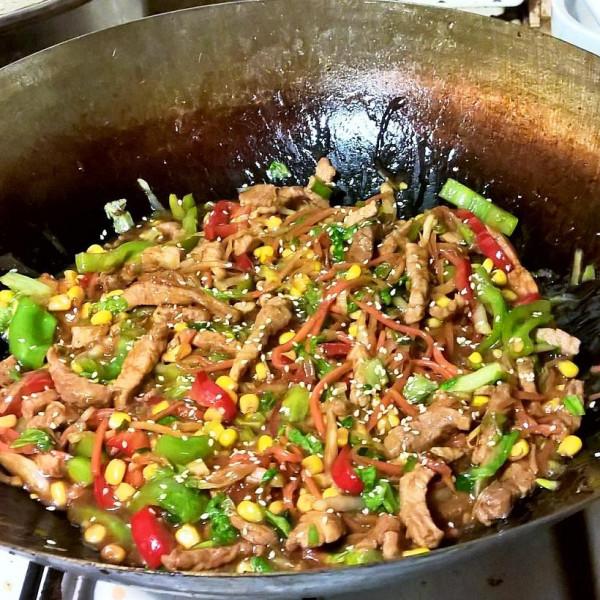 Вок со свининой в устричном соусе и овощами_зимний вариант_2