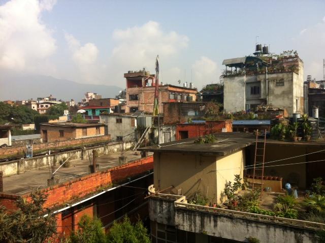 Крыши Катманду