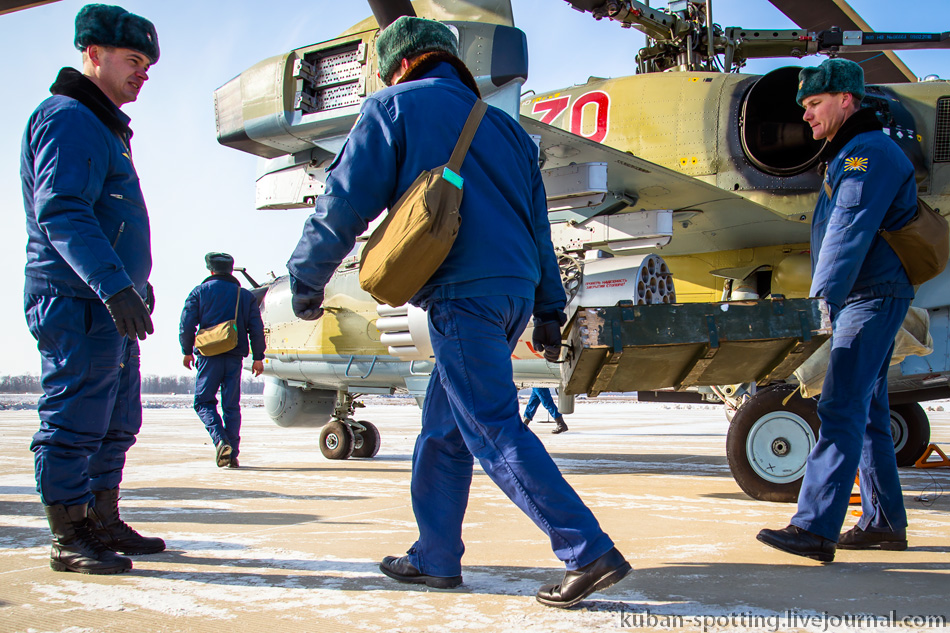 962865_original Летчики ЮВО осваивают недавно поступившие Ка-52