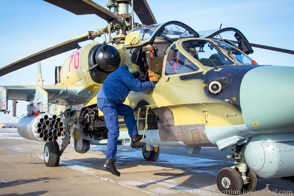 964752_original Летчики ЮВО осваивают недавно поступившие Ка-52