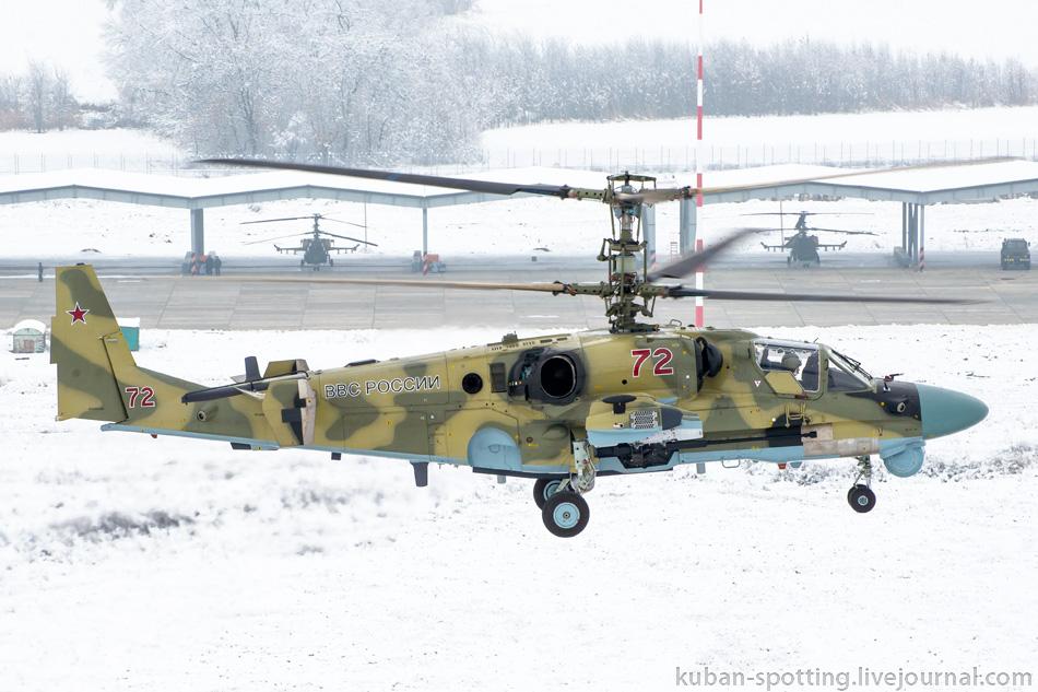 965670_original Летчики ЮВО осваивают недавно поступившие Ка-52