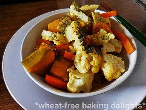 Cauliflower pumpkin curry 2