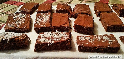 Glutenfree minty chocolate squares1